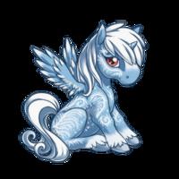 Frostbite Alicorn Baby