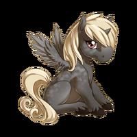 Silver Dapple Alicorn Baby