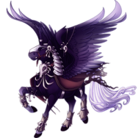 Unholy Charger Alicorn
