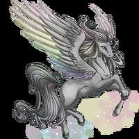 Dusty Rainbow Pegasus