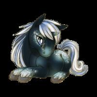 Moonlit Galaxy Unicorn Baby