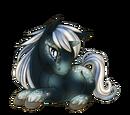 Moonlit Galaxy Unicorn