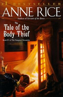 The Tale of the body thief book cover