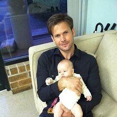 Matt and her baby goddaughter