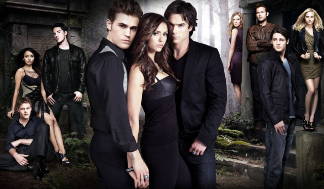 File:The Vampire Diaries Cast and Title.png