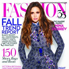 Fashion — Sep 2012, Canada, Nina Dobrev