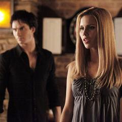 Rebekah and Damon 3x16