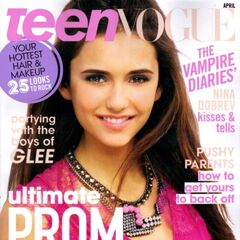 Teen Vogue — Apr 2011, United States, Nina Dobrev