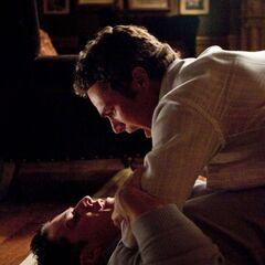 Mason holding down a enraged Tyler