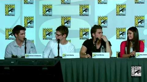 The Vampire Diaries Season 4 Comic-Con 2012 Panel HD