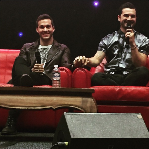 Chris Wood, Michael Malarkey