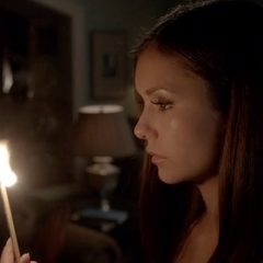 Elena's about to burn the house