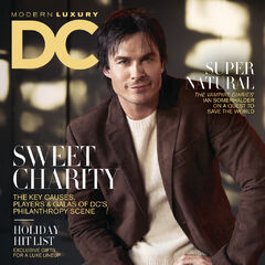 Modern Luxury DC — Nov 2016,United States, Ian Somerhalder