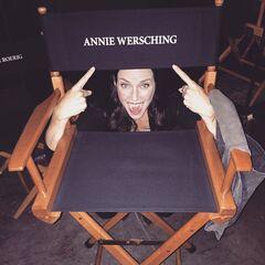 Annie Wersching July 20, 2015