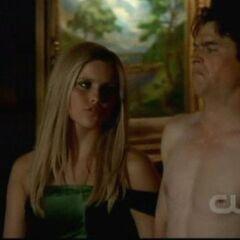 Damon and Rebekah 3x15