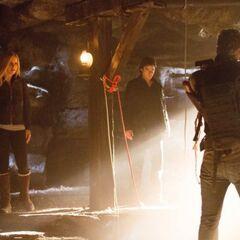 Rebekah, Damon and Vaughn