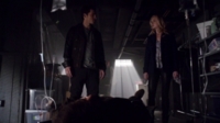 Enzo and Caroline finds Tom 5x17