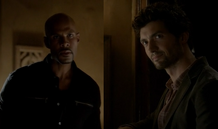 Connor-and-Professor-Shane-in-4x04-The-Five