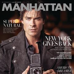 Modern Luxury Manhattan — Nov 2016,United States, Ian Somerhalder
