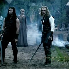 Mikael, Elijah and Niklaus