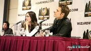 The Vampire Diaries' Paul Wesley and Torrey Devitto Q&A @ Toronto Comic Con 2012 (part 3)