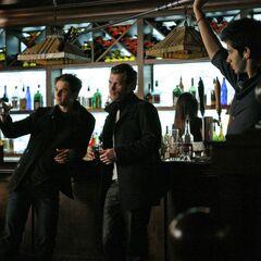 Behind the scenes - Bar scene