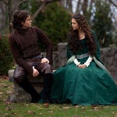 Elijah und Katherine, 1490