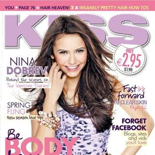 Kiss — Mar 2012, Ireland, Nina Dobrev