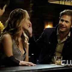 Jules, Damon and Alaric