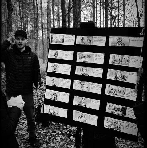 File:Storyboard in the woods.jpg