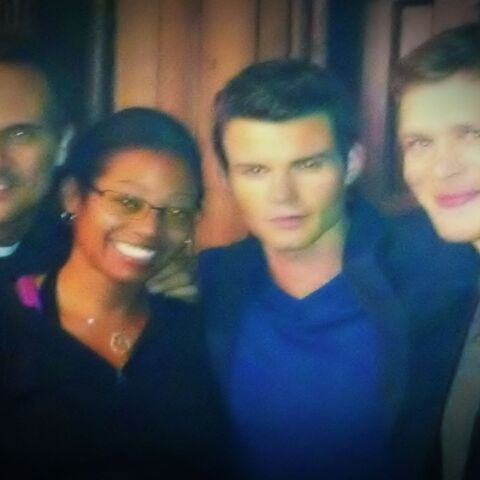 Daniel and Joseph with some friends BTS