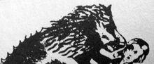 Werewolfdevouringawomanorchild