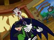 Count Spankulot spanking at Numbuh Three