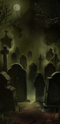 Graveyard background