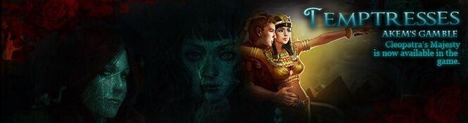 Cleopatra's Majesty banner