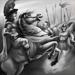 Alexander's Malevolence bw