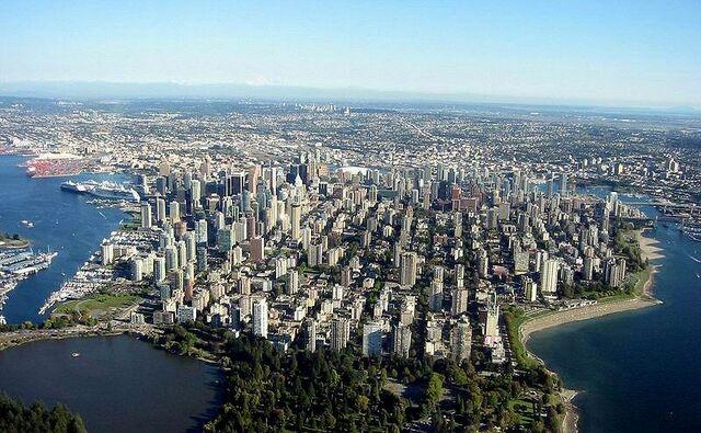 File:Vancouver skyline aerial.jpg