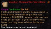Voucher thestran one story home