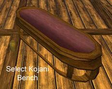 Select Kojani Bench