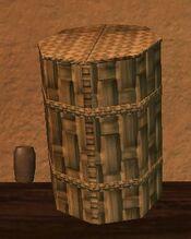 Tall sealed firegrass kojani basket