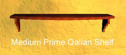Medium Prime Qalian Shelf