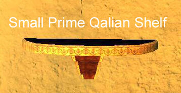 Small Prime Qalian Shelf