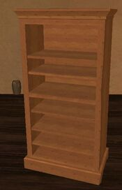 Medium standard qalian bookshelf
