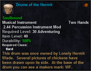 Drums of the Hermit