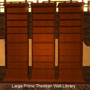 Large Prime Thestran Wall Library