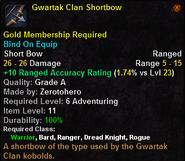 Gwartak Clan Shortbow