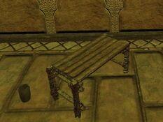 Dark standard qalian bench