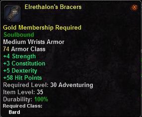 Elrethalon's Bracers