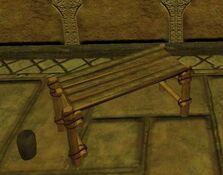 Light standard qalian bench