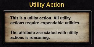 Hint utility action